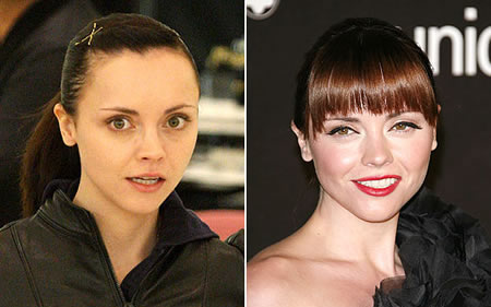 christina ricci without makeup