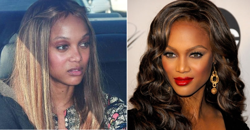 tyra banks no makeup. Following Tyra Banks without