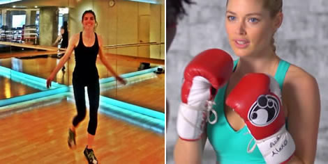 Wiggles Exercise Victorias Secret Model diet: Victoria's...