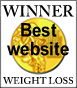 Winner of the best web: Diet and Weight loss